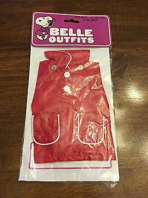 "Plush Belle Raincoat New 10"" plush outfit"
