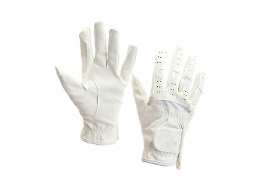 HORKA Domy Suede Horse Riding Gloves
