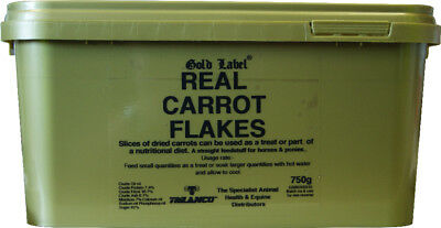 Gold Label Real Carrot Flakes - 750 g - Treats