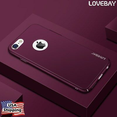 iPhone X 7 Plus 6 6s Ultra Thin Luxury Shockproof Case Cover Hard Back For Apple