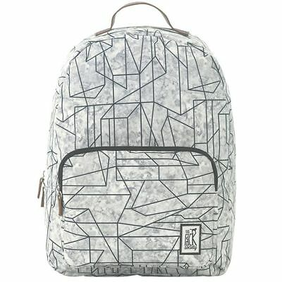 c6d32fae59e85 The Pack Society BACKPACK COOL PRINTS Geometric Marble Allover Rucksack NEU