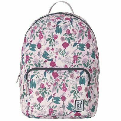 c3b9c76bf161d The Pack Society BACKPACK COOL PRINTS Pink Botanical Allover Rucksack NEU