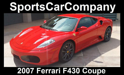 2007 Ferrari 430 F430 COUPE 2007 FERRARI F430 BERLINETTA COUPE LOW MILE (11k!)MAINTAINED BEAUTIFULLY IN&OUT!