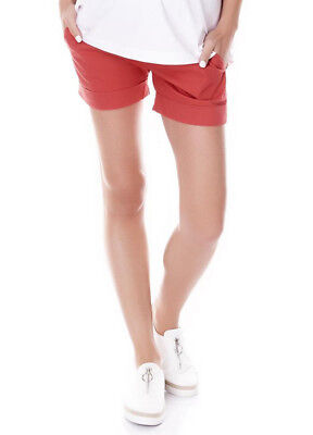 NEW - Imanimo - Sue Chino Shorts in Candy - Maternity Shorts