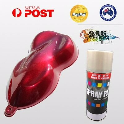 Custom Candy Aerosol Paint 400Ml Candy Apple Red Base Heat Body Brakes Calipers