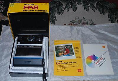 Kodak EK6 Instant Camera W/ Box instructions