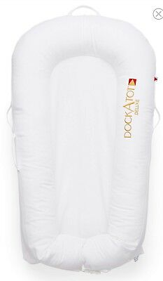 NEW DOCKATOT Deluxe Plus Stage 1 Docking Sleeper Pristine White Dock a Tot