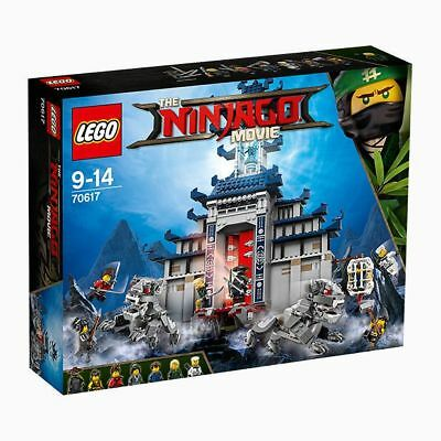 NEW THE LEGO NINJAGO Movie™ Temple of The Ultimate Ultimate Weapon 70617