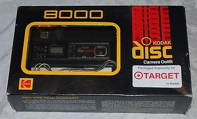 Kodak Camera Disc 8000 Disc Film Vintage