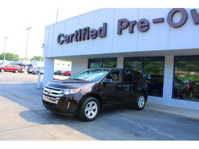 2013 Ford Edge SEL 2013 Ford Edge SEL 48113 Miles Brown AWD SEL 4dr Crossover  6-Speed Shiftable Au