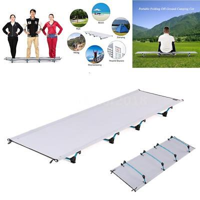 Portable Folding Camp Cot Bed Outdoor Ultralight Camping Sleeping Bed Waterproof