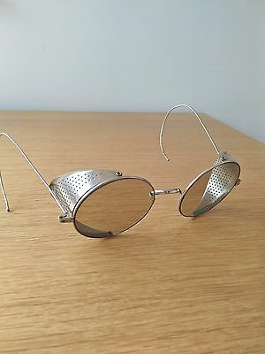 Willson vintage safety goggles with original case