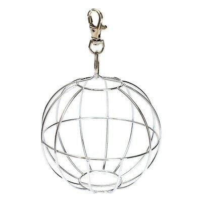 Feedball Ball Metal Rodent for Rabbit Guinea Pig Rabbit Chinchillas Hamster W9X8