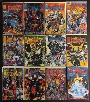 Image 90's Comics - Stormwatch 0 1 2 3 4 5 6 7 8 9 (0-9) + Special NM Lot of 12
