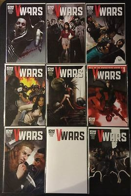 IDW V-Wars 1 2 3 4 5 6 7 8 (1-8) NM - Sold Out! TV Series! Unread LPR Lot of 9