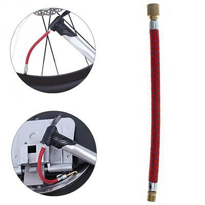 Portable MTB/Road Bicycle Pump Inflator Extension Tube for Schraeder Valve