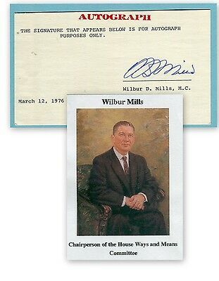 Wilbur Mills, long Term Congressman of Arkansas,     (3449