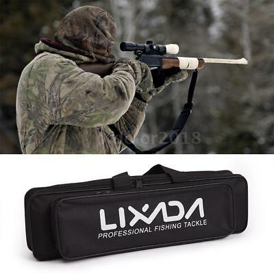 Fishing Rod and Reel Bag Pole Travel Carry Case Hunting Tackle Carrier New M7V9