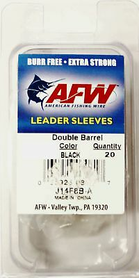 AFW Double Barrel Leader Sleeve Terminal Tackle For AFW Wire Shark Fishing