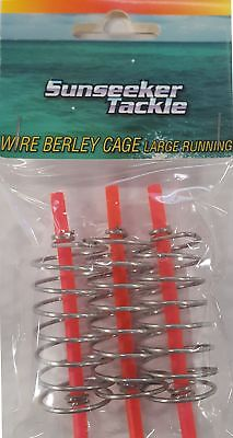 Sunseeker Wire Berley Cage - Large Running All Other Tackle