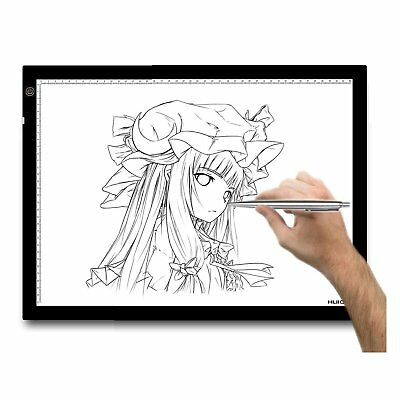 OZ Huion A3 Art Graphic Drawing Tablet Animation Trackpad LED Light Pad 23.5""