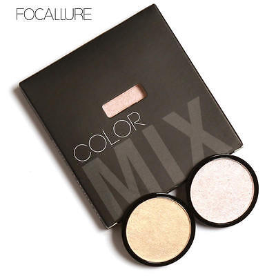 Fashion 5 Colors Makeup Powder Women's Face Highlighter Eyeshadow Beauty Tool