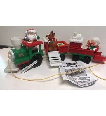 Fisher Price Little People Musical Christmas Train Set