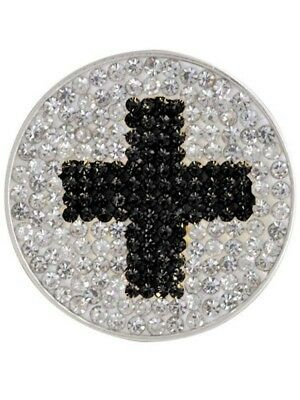 Navika Micro Pave Cross Marker With Clip