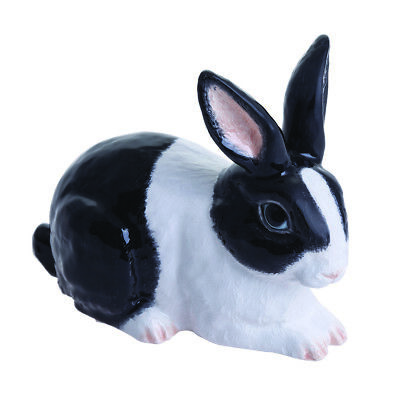 The Adorables Rabbit Black and White JBTA1BW - John Beswick