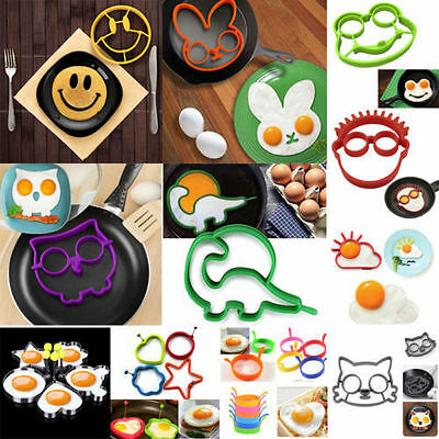 30 Styles Egg Mold Fried Mould Culinary Pancake Ring Shaper Cooking Kitchen Tool