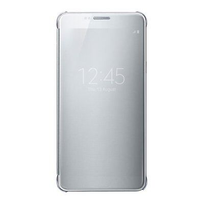 Samsung Galaxy Note 5 Clear View Flip Cover - Silver