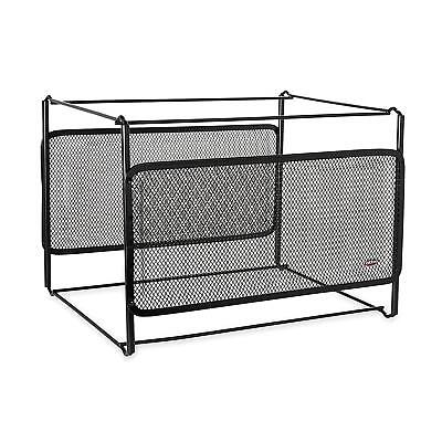 Rolodex - Eldon Mesh Collection Side-Load Double Tray with Hanging File,...