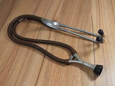 Vintage Army Doctor STETHOSCOPE - Capt Livesey