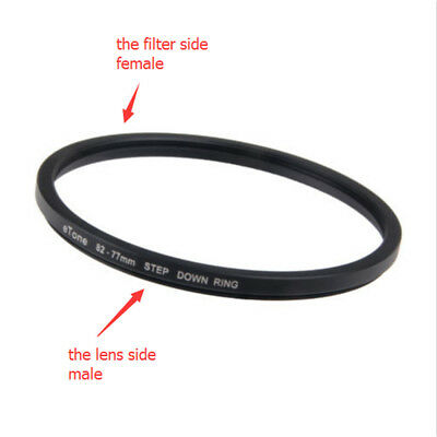 eTone 82-77mm Step Down Metal Adapter Filter Ring 82mm Lens to 77mm Accessory CN