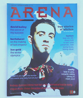 Vintage Arena Magazine-Issue 8-Spring 88-Good Condition-