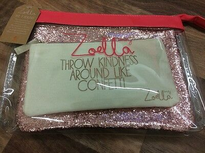 Brand New Zoella -We 3 Beauties Cosmetic Bag Trio With Tag