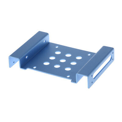 2.5'' to 3.5'' SSD Solid State Hard Disk Drive Mount Bracket Adapter Blue