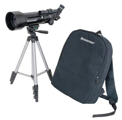 Celestron 21035 Travel Scope 70 Portable Telescope W/ 165x Maximum Magnification
