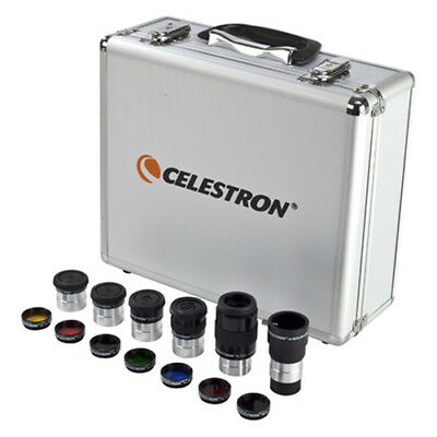 Celestron 94303 Eyepiece and Filter Kit Compatible With 11007 and 21039