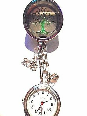 Nurse Watch Living Memory Locket Floating Charm dont let anyone dull yr sparkle