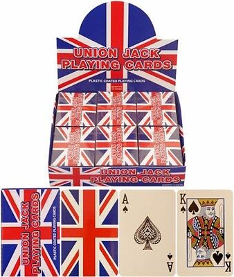 Sealed Union Jack Flag Poker Playing Cards Full Deck Uk Seller Free P&p