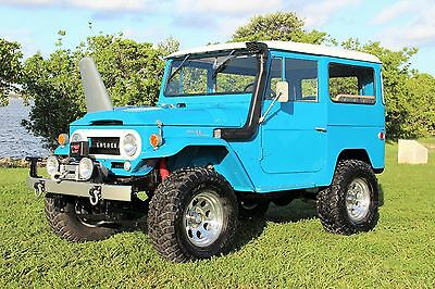 1966 Toyota Land Cruiser  ONLY 49K ORIGINAL ONE OWNER MILES BEAUTIFUL NEW PAINT AND INTERIOR SHOW QUALITY