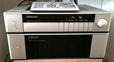 Meridian G02 and G57 Pre and Power amp.  Like New