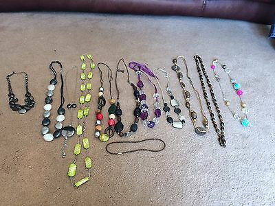 Costume Jewellery Joblot/Bundle 2- Necklaces only