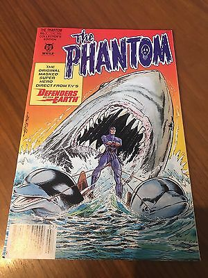 Phantom #1 Defenders Of The Earth Wolf Comics Collectors Edition (FN)