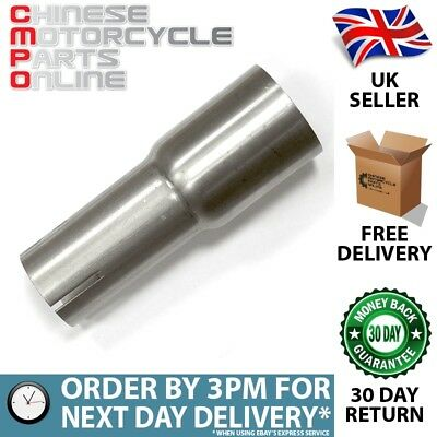 Lextek Stainless Steel Exhaust Silencer Link Pipe 37mm for EXHSIL026 (#01)