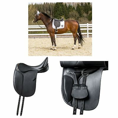 "Eric Thomas ""Madrid"" Dressage Saddle and Cover Black"