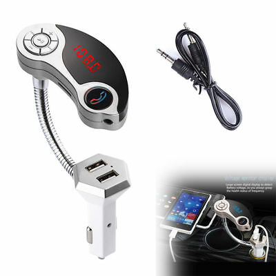 2017 Wireless Bluetooth FM Transmitter Car Kit Charger MP3 Player Radio Adapter