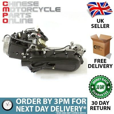 125cc Scooter Engine BN152QMI with 450mm Case, Long Shaft (ENG044)