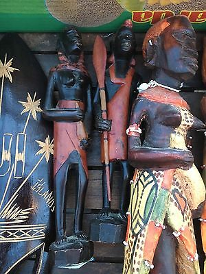 Big Collection of African / Asian / Tiki Wood Items